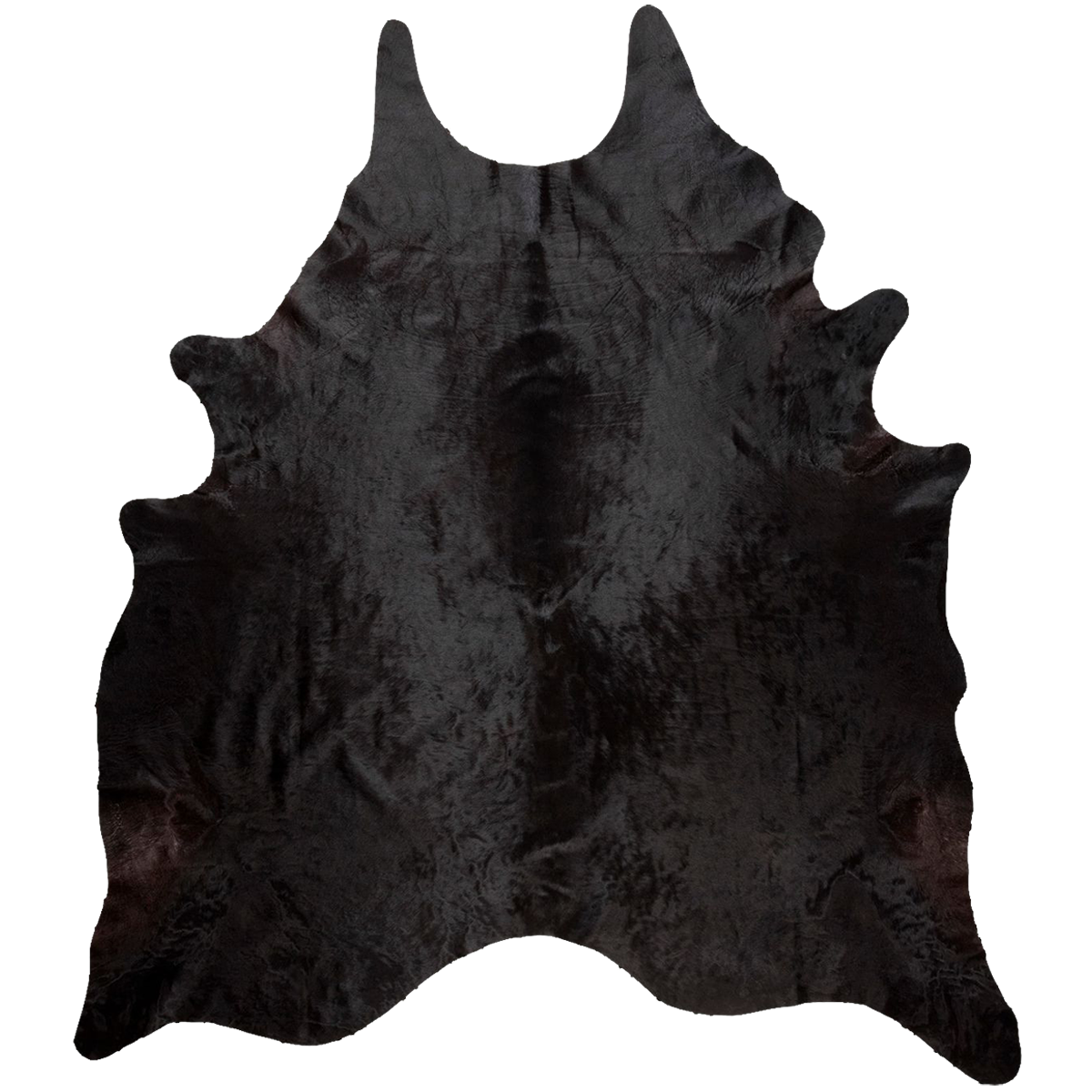 Black Cowhide Full Sized hide