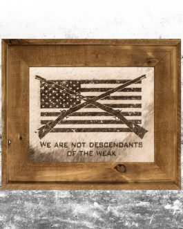 We're Not Weak: Infantry