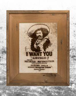 Pancho Villa 1914 Poster