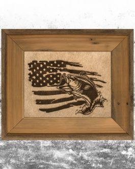 American Flag w/ Bass