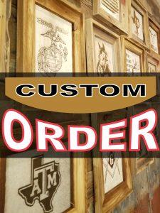 Custom Order Cowhide products