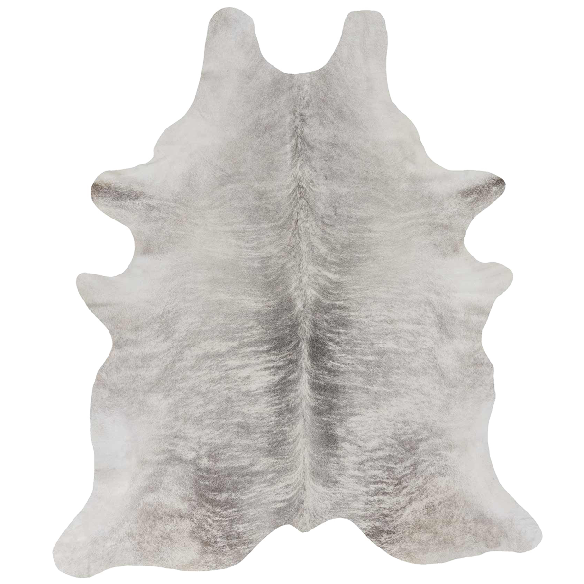Grey Brindle Cowhide Full Sized hide